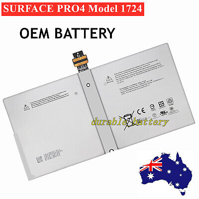 NEW Battery DYNR01 For Microsoft Surface Pro 4 Pro4 model 1724 G3HTA027H From AU