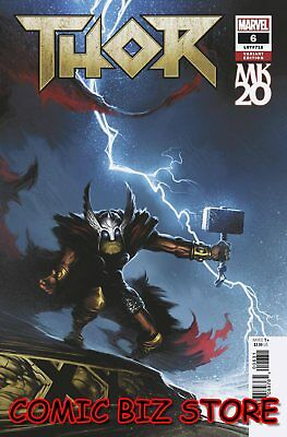 Thor #6 (2018) 1St Printing Isanove Mkxx Variant Cover Bagged & Boarded Marvel