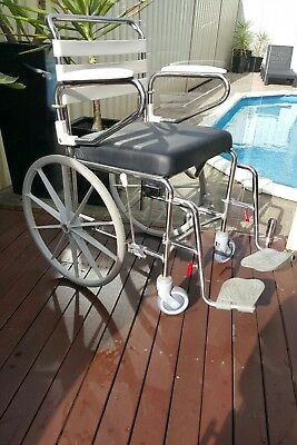 Great Condition Care Quip Shower & Toilet  Commode manual