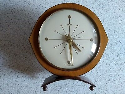 Vintage Smiths Sectric Mantle Clock - good condition -  electric - no plug