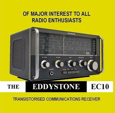 Eddystone EC10 - DVD - HF Communications Receiver Shortwave Radio Manual