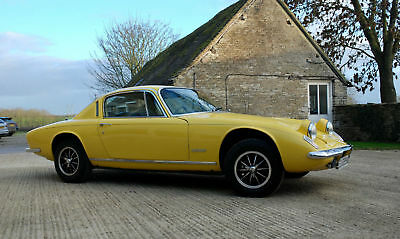 Lotus Elan +2 Just 1 Owner with only 21722 Miles from new Good investment car
