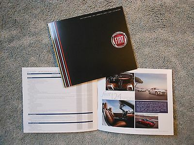 2017 Chrysler Fiat 124 Spider Abarth 500 Series Catalog & Accessory 2 Items New