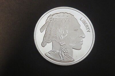 1 oz Silver Buffalo/Indian  Round .999 Fine Silver