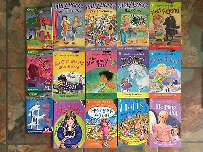 Bulk lot of 15 Girls Books Aussie Nibbles, Bites, Chomps, Girlz Rock!