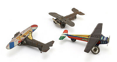 FCB Italy Japan Blech Flugzeug 20's Penny Toy Tin Air Plane France Avion Aereo