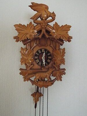 Weight Operated German Cuckoo Clock