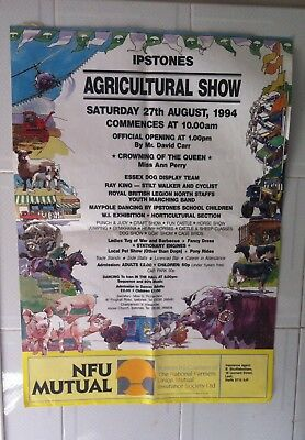 """Poster IPSTONES """" Agricultural Show """""""