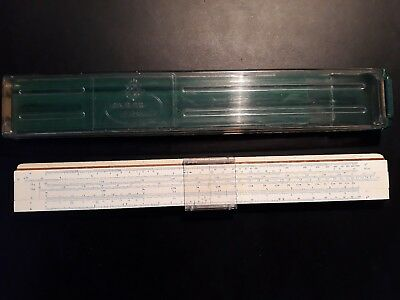Vintage Faber Castell Super Business 1/28 Slide Rule. Exec cond. Ready to post.