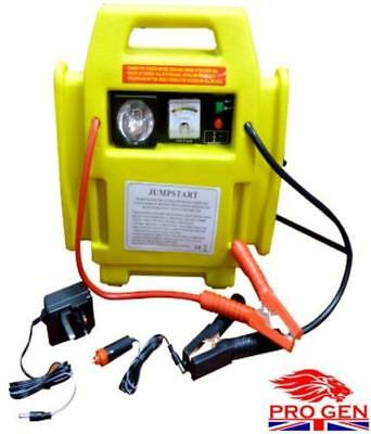 12V Power Pack Car Engine Starter Jump Start Battery Booster And Air Compressor