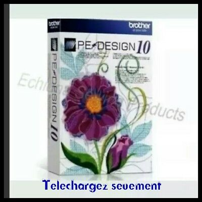 Brother Pe Design Ten Full Version Software & Free Gifts Téléchargez seulement