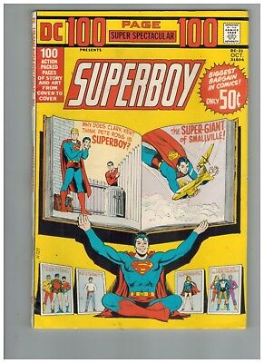 DC 100 Page Super Spectacular 21 w/ Superboy,  Legion,  Teen Titans!  VF!  1973