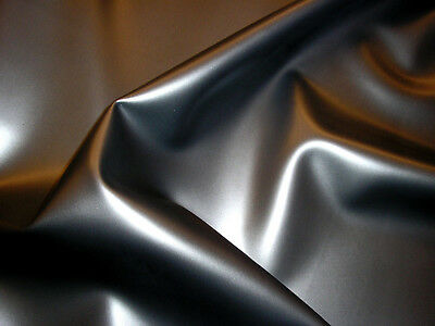 Latex Rubber 0.33mm, Roll End, 430x92cm, Pearlsheen Pewter
