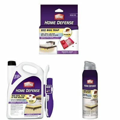 Home Defense Max Spray Killer Repeller For Bed Bug Flea Thick Value Pack