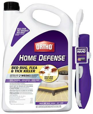 Home Defense Max Spray Killer Repeller For Bed Bug Flea Thick Non Staining 1.89L