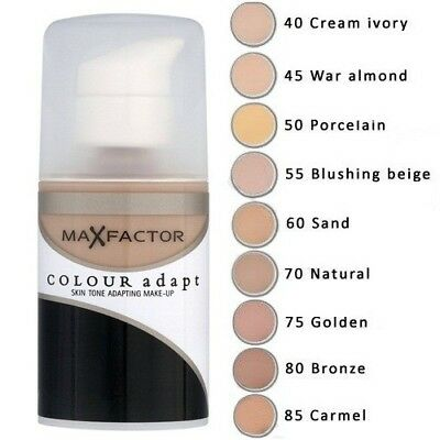 Max Factor Colour Adapt Foundation CHOOSE SHADE