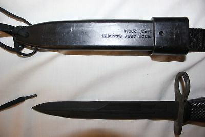 BOC M7 US Military Issue Fighting Knife USMC Army with M10 Scabbard