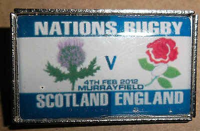 Scotland vs England Nations Rugby