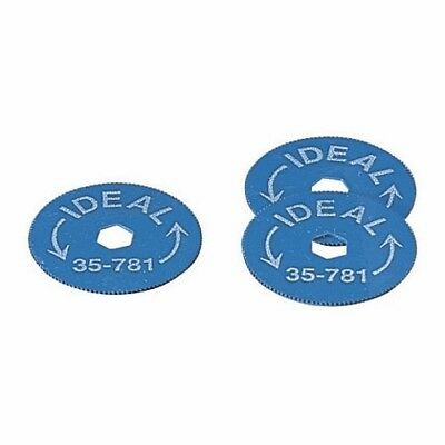 NEW Ideal 35-781 Replacement Blades-  BX Cable Cutter  35-782   5 Pack of Blades