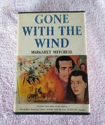 Gone With the Wind, by Margaret Mitchell,  Book Club Ed., 1936, HB DJ