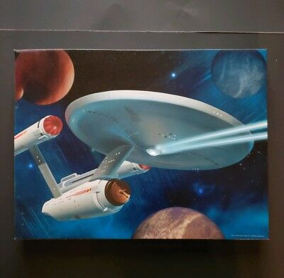 Star Trek Enterprise NCC 1701 LED Light-Up Canvas Print Original Series Westland