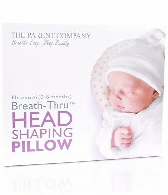 The Parent Company Breathe-Thru Head Shaping Baby Pillow Pillowcase (0-6 Months)