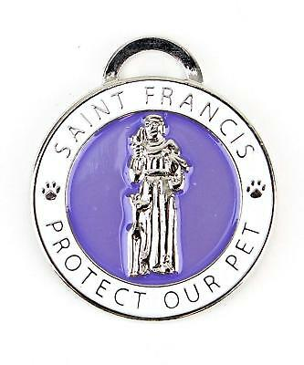 Midlee St. Francis Pet Tag Large