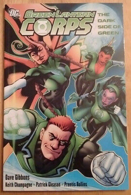 Green Lantern Corps TPB The Dark Side of Green