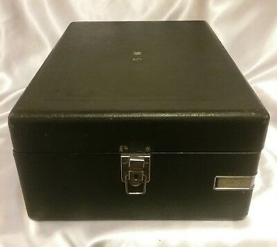 HMV GRAMOPHONE CASE (ONLY) GREEN In Need of Restoration