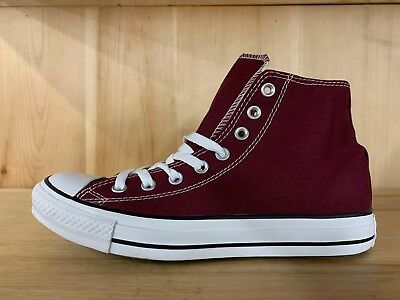 Converse Chuck Taylor Ct Hi All Star Burgundy Casual Shoes Size 7  139784F