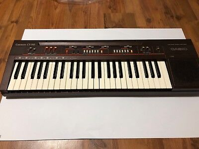 Vintage Casio Casiotone CT-310 Keyboard Synthesizer W/ Official Gig Bag WORKING
