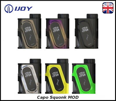 iJoy Capo Squonk Mod ONLY - 100w - 100% Genuine Guaranteed
