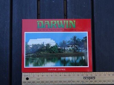 1 x OLD RETRO TRAVEL GUIDE DARWIN TOP END NORTHERN TERRITORY BW4