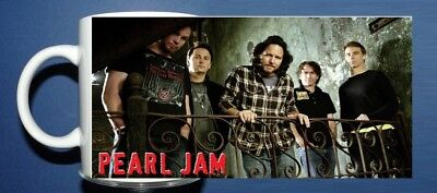 Pearl Jam - Photo Mug - Ideal Gift Idea