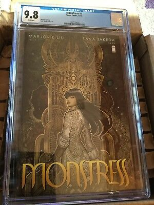 Monstress 1 First Printing CGC 9.8 Image Comics