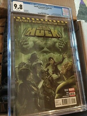Totally Awesome Hulk #22 (2017) CGC 9.8 1st Print 1st Appearance of Weapon H