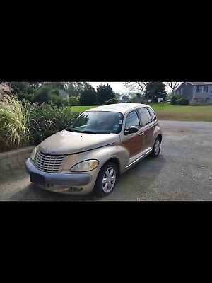 2002 Chrysler PT Cruiser Woody 2002 Chrysler PT Cruiser Woody Limited 2.4l