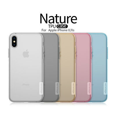 ✔️ Case Cover ORIGINALE Nillkin® Custodia TPU Qualità Super Top Per iPhone Xs