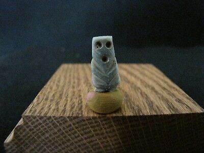 Pre Columbian, G/Stone, Mayan, Pendant, Necklace Bead, E/L Post Cla. 900-1500 AD