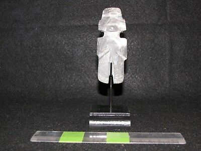Pre Columbian, Stone,  Choice Mezcala Axe God, Middle/Late Formative 700 200 BC