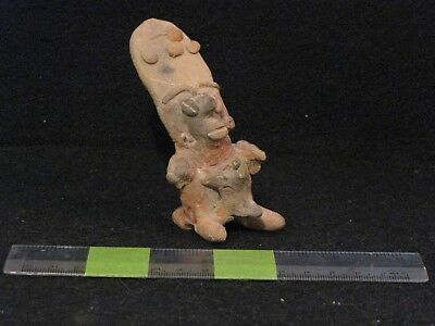 Pre Columbian, Pottery, W. Mex., Jalisco, Figure & Animal, Late F. 300 BC 200 AD