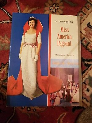 1961 Miss America Pageant Official Program