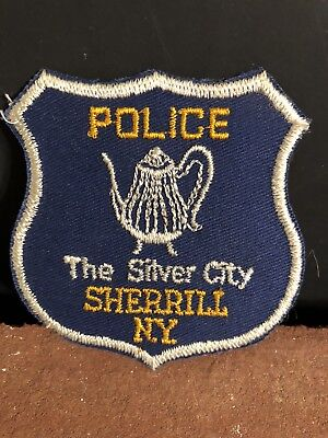 Sherrill New York Police Department Patch