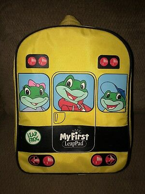 Leap Frog BACKPACK School Bus My First LeapPad