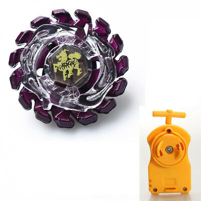 Super P Giraffe Beyblade Fusion Masters BB86 Play Set With Yellow Launcher
