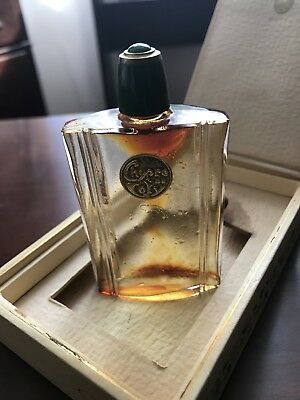 Vintage 1930s Coty CHYPRE Perfume Bottle and Box