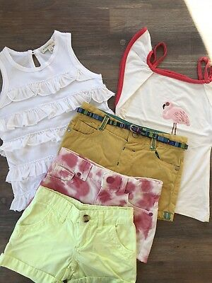 Girls Tops And Shorts Bundle Size 3-4. Witchery Kids, Seed Heritage & UK Brands