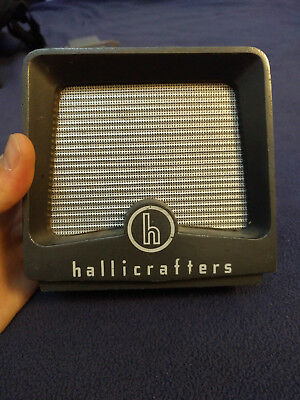 Vintage HALLICRAFTERS R-47 external HAM RADIO Desk Top Receiver SPEAKER - works