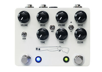 JHS Pedals Double Barrel V4 Overdrive GENTLY USED