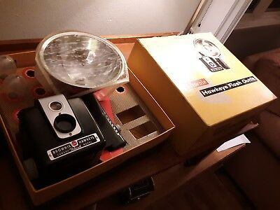 Vintage Kodak Brownie Hawkeye Flash Outfit In Original Box 177 M untested